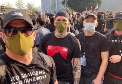 Ukrainian neo-Nazis Flock to the Hong Kong Protest Movement