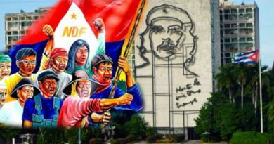 Philippines: NDFP Salutes the Republic of Cuba for its Firm Defense of Latin America and the Caribbean Against US Imperialism