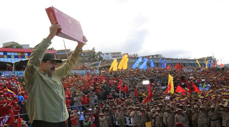 Venezuela's Civilian Militia Surpasses Target, Reaches 3.3 Million Members