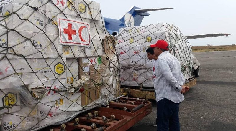 Red Cross Chief: Venezuela Aid Being Politicized to 'Destabilize the Country'
