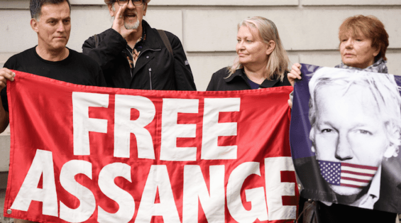 John Pilger: Visiting Britain's Political Prisoner