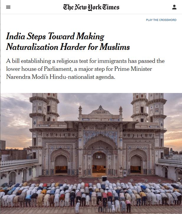 NYT-India