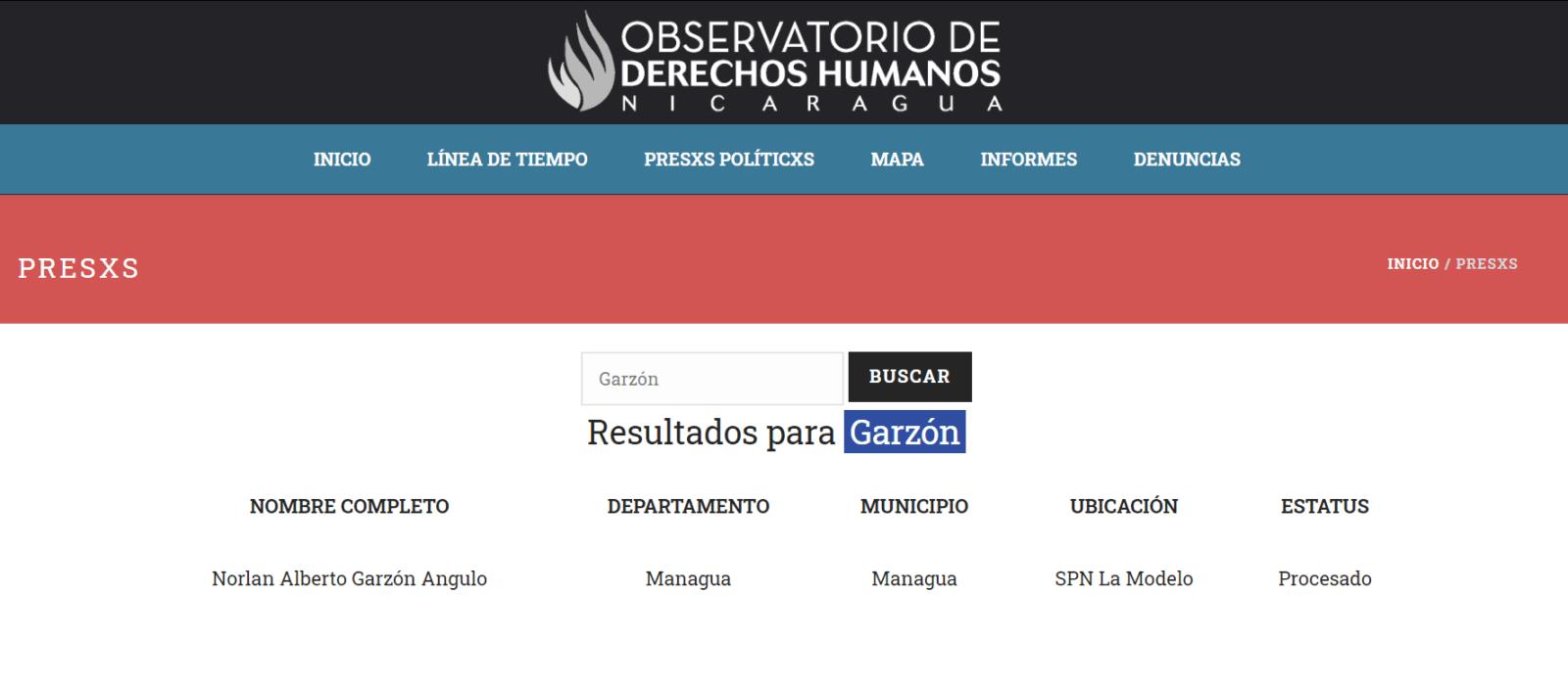 Nicaragua-human-rights-political-prisoner-Norlan-Alberto-Garzon-Angulo-murder