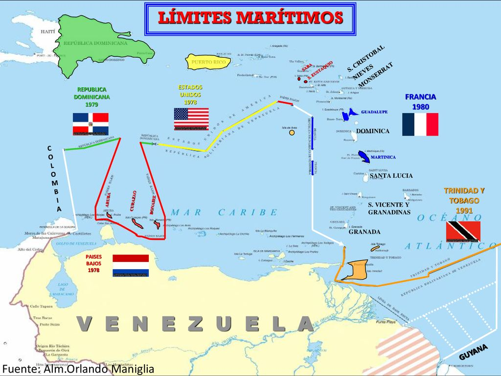 V+E+N+E+Z+U+E+L+A+LÍMITES+MARÍTIMOS+Fuente +Alm.Orlando+Maniglia