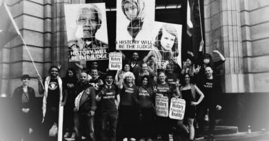Victory in the Humboldt 3 Trial (Anti-Apartheid / BDS)