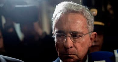 Alvaro Uribe Velez in House Arrest, by Order of the Colombian Supreme Court