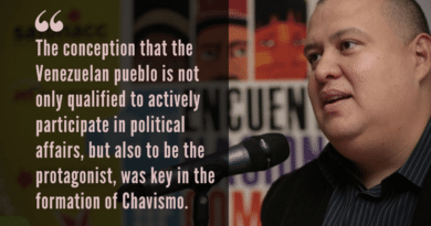 Chavismo and the Left: A Conversation With Reinaldo Iturriza (Part II)