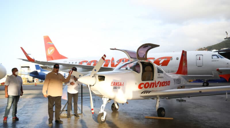 first venezuelan plane, President Maduro, EANSA