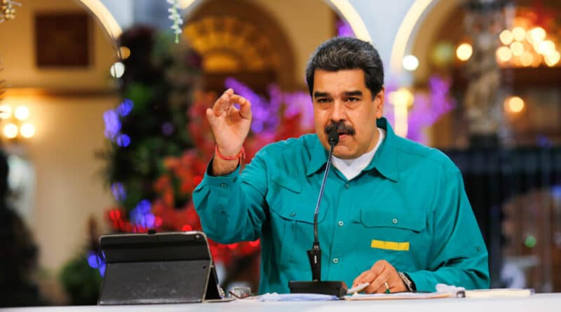President Maduro Christmas 2020 Venezuela