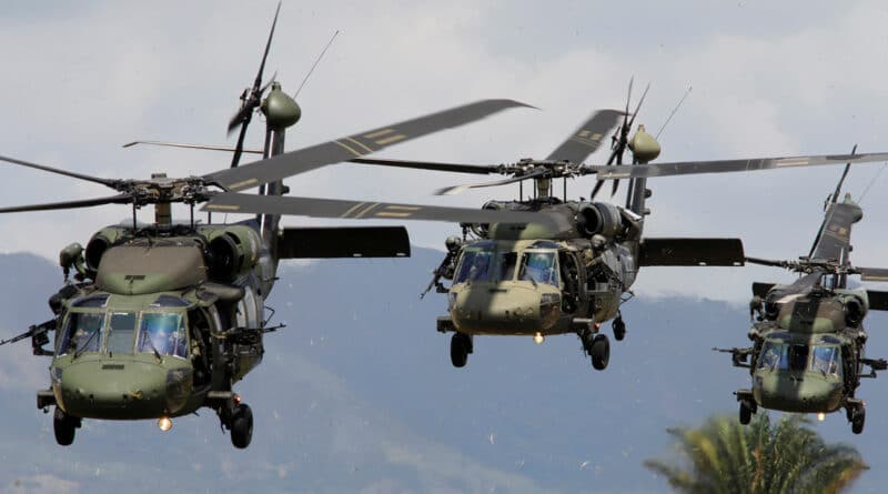 Military exercise by the US, Colombia and Brazil at the Tolemaida base, Colombia, January 26, 2020. Jonathan Drake / Reuters