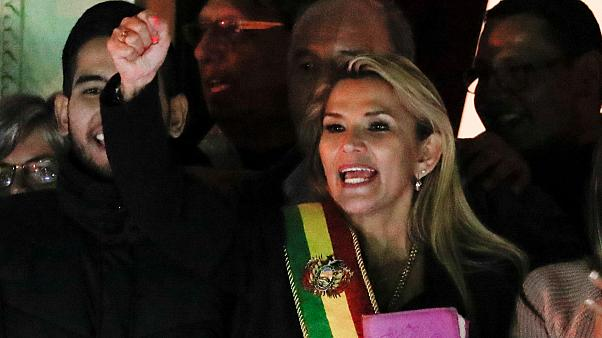 jeanine anez former dictator of Bolivia