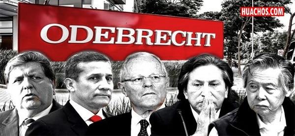 presidentes peruanos corruptos odebrecht