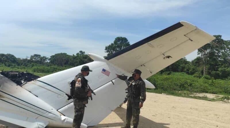 US narcojet neutralized by Venezuelan Military Aviation