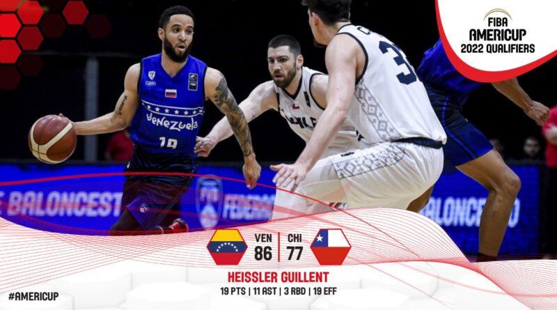 Venezuela beats Chile FIBA Copa America