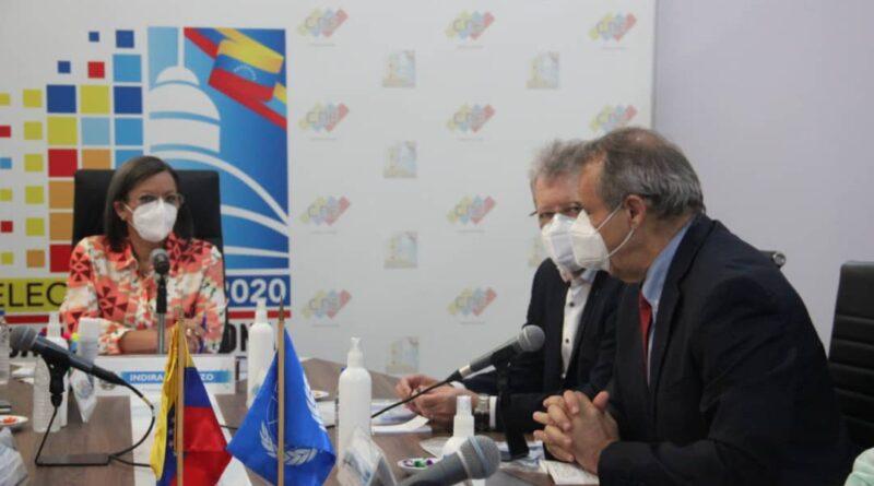 CNE, Venezuela, 6D, Parliamentary Elections, UN, United Nations, bio safety protocols, COVID-19