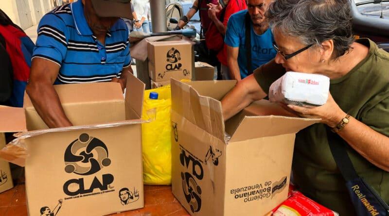 CLAP food program in Venezuela.