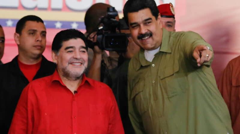 Maradona and Maduro