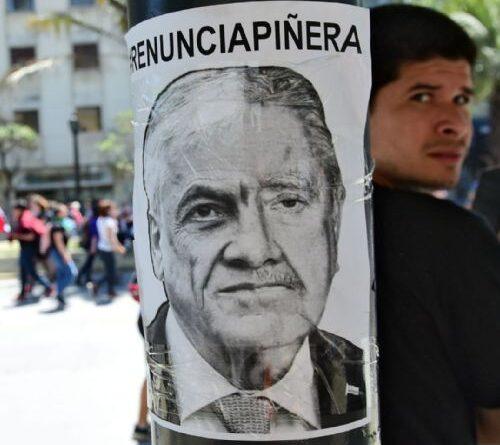 Chile, protests, Pinera resign!, police repression,