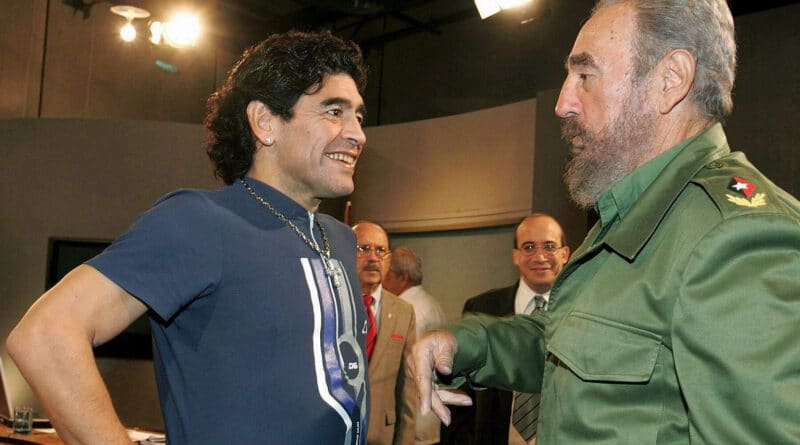 Maradona and Fidel now have November 25 in common, as the same date they left for eternity.
