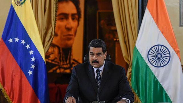 Venezuela and India President Maduro