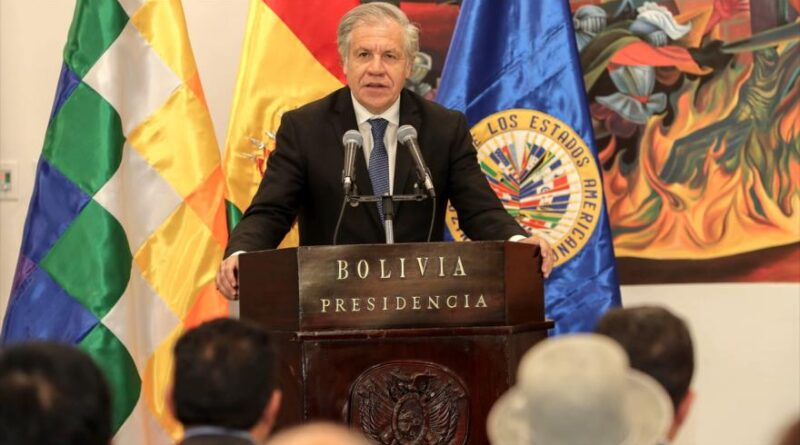 Parlasur Requets the Opening of an Investigation on Almagro for his Role in Bolivia's Coup