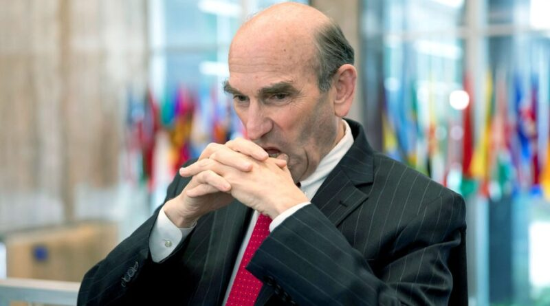 Dardamel Elliott Abrams. About to loose his job