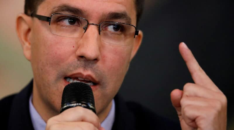 The Foreign Minister of Venezuela, Jorge Arreaza. Carlos Garcia Rawlins / Reuters