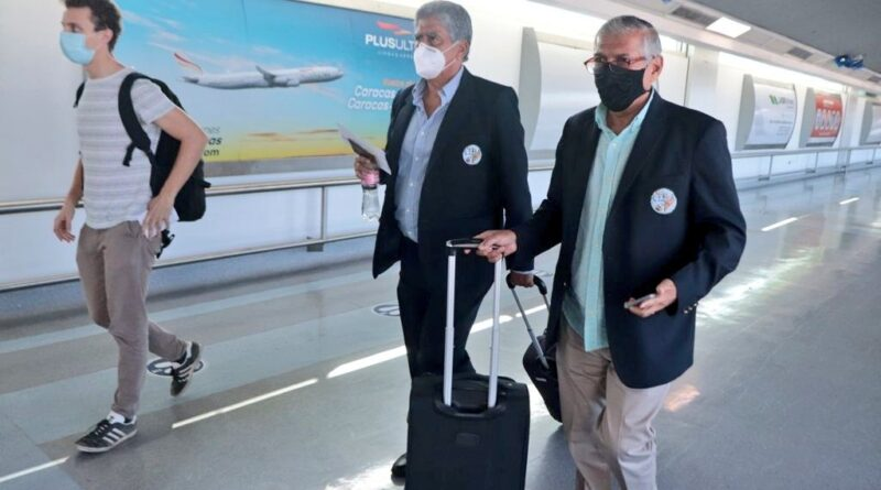 International observers arriving for the Venezuelan 6D Parliamentary Election. Photo courtesy CNE