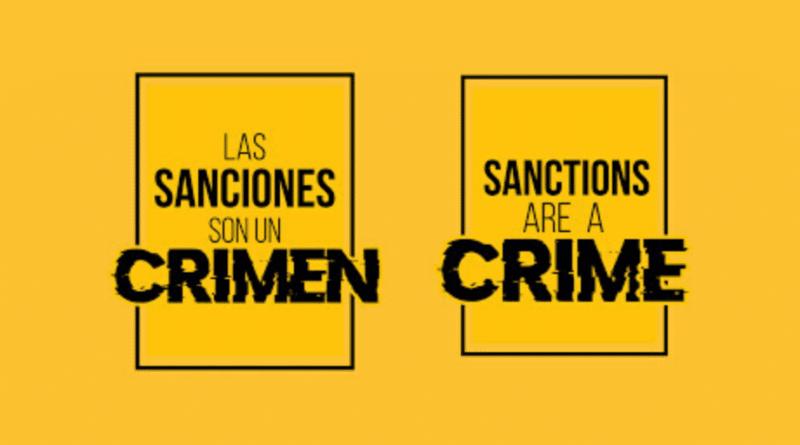 Sanctions Are A Crime