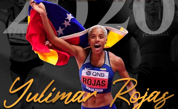 Yulimar Rojas from Venezula awarded as Best Female Athlete 2020