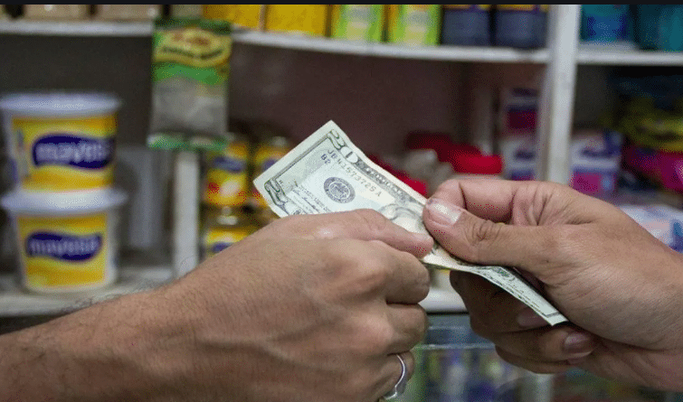 paying with dollars in Venezuela