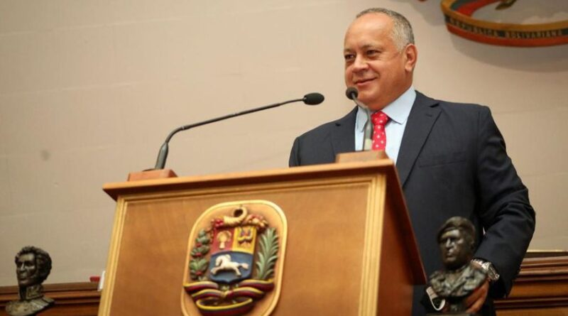 Diosdado Cabello, President of Venezuela's national Constituent Assembly