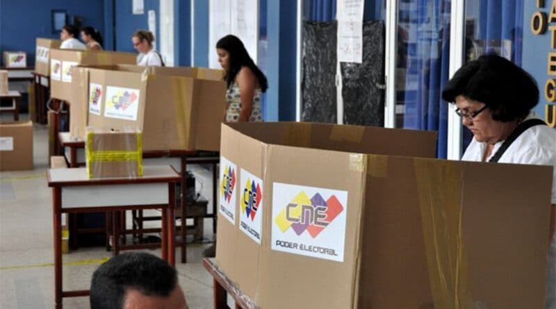 Parliamentary Elections today in Venezuela 6D