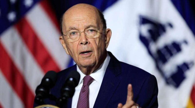 US Commerce Secretary Wilbur Ross speaks during a press conference, September 21, 2020 (Photo: AFP)