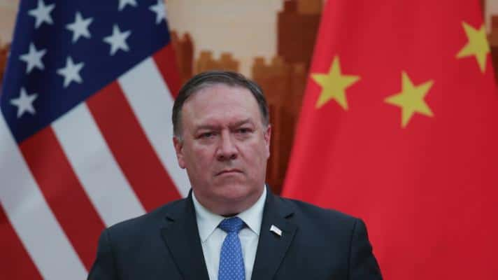 China fires Mike Pompeo with sanctions for his policy of harassment against the Asian nation. (Photo: Getty Images)