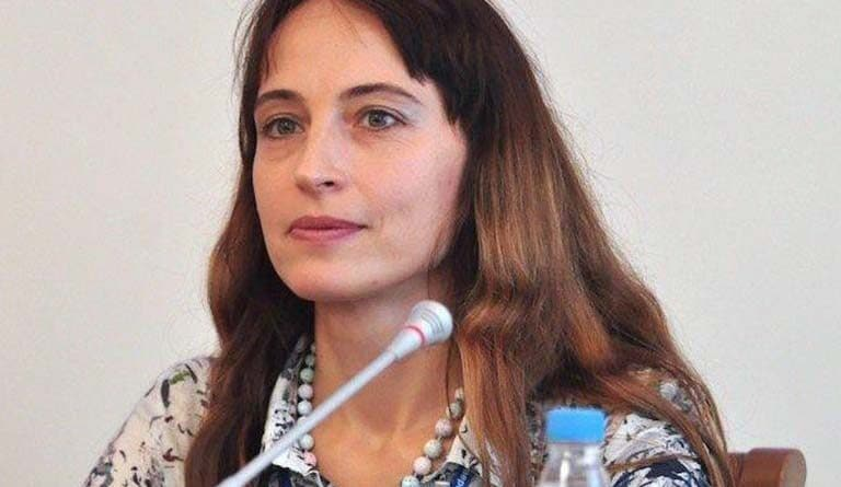 Alena Douhan, the special rapporteur of the United Nations (UN) on the negative impact of unilateral coercive measures on human rights arrives in Venezuela