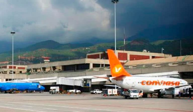 Venezuela resumes international flights with Panama and Dominican Republic