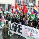 """Sahara Libre"": A demonstration in Madrid for the independence of occupied Western Sahara"