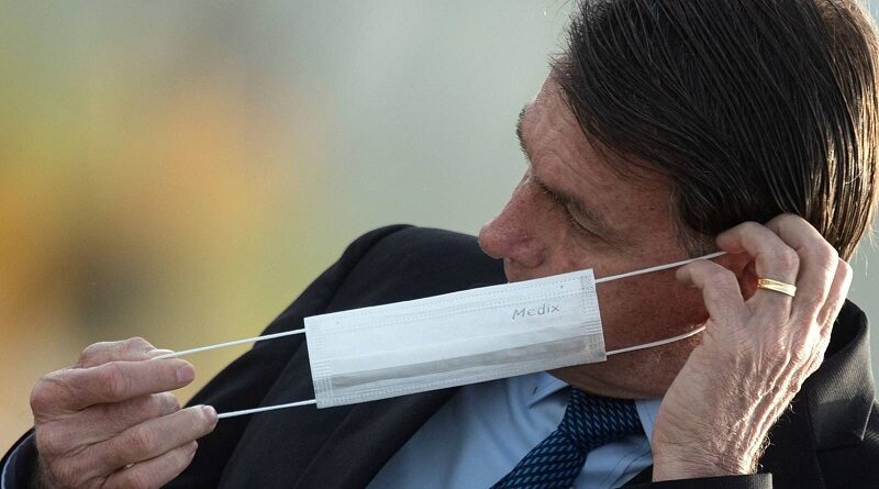 Featured image: Unpopular Brazilian right-wing President, Jair Bolsonaro. File photo.
