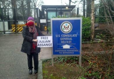 Free Julian Assange Says Irish Nobel Peace Prize Laureate!