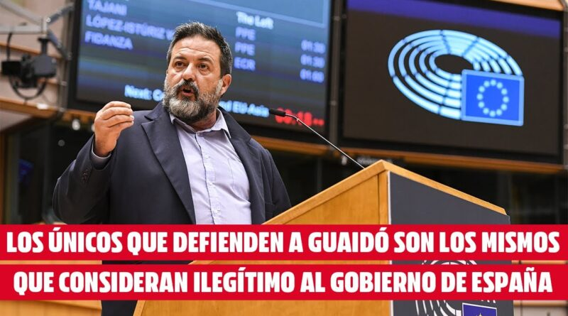 Featured image: MEP Manuel Pineda speaking at the European Parliament. Screenshot courtesy of Izquierda Unida youtube channel.