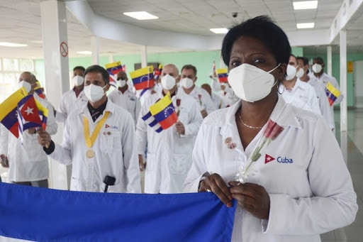 "Featured image: Cuban ""Henry Reeve"" medical brigade in Venezuela saving lives. File photo courtesy of ACN"