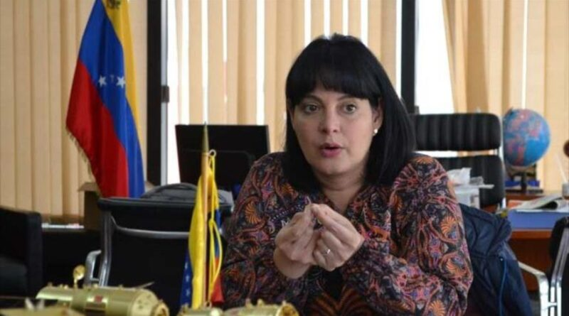 Minister of Science and Technology of Venezuela, Gabriela Jiménez, in an interview with the local radio station Unión Radio, July 7, 2020.