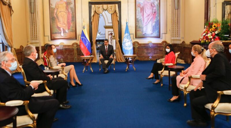 Featured image: President Maduro met with UN Special Rapporteur on the Effects of Sanctions on Human Rights. Photo courtesy of Prensa Presidencial.