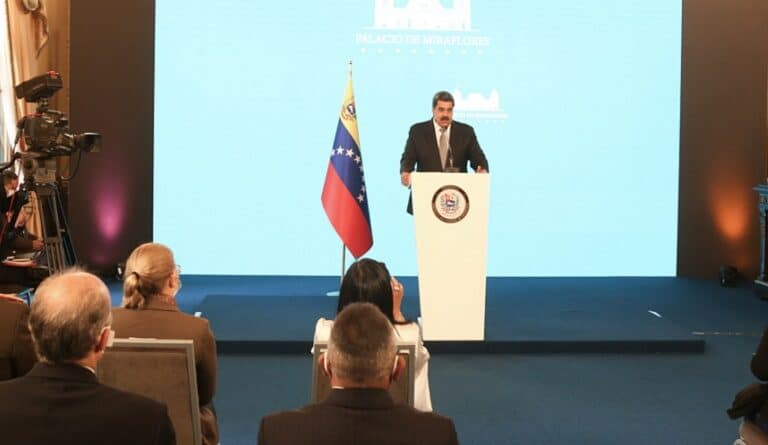 The president highlighted the strength of the Venezuelan electoral system.
