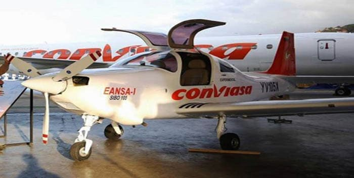 Featured image: SIBO the new and first in house Venezuelan aircraft commercialized by Conviasa.File photo.