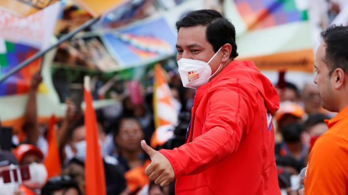 The left wins in Ecuador presidential first round