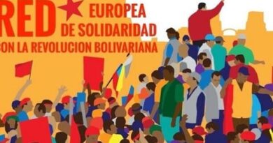 European Movements Close Ranks in Solidarity with Venezuela. File photo.