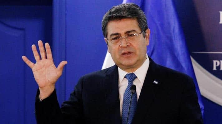 Featured image: Juan Orlando Hernández, president of Honduras (Photo: Jorge Cabrera / Reuters).