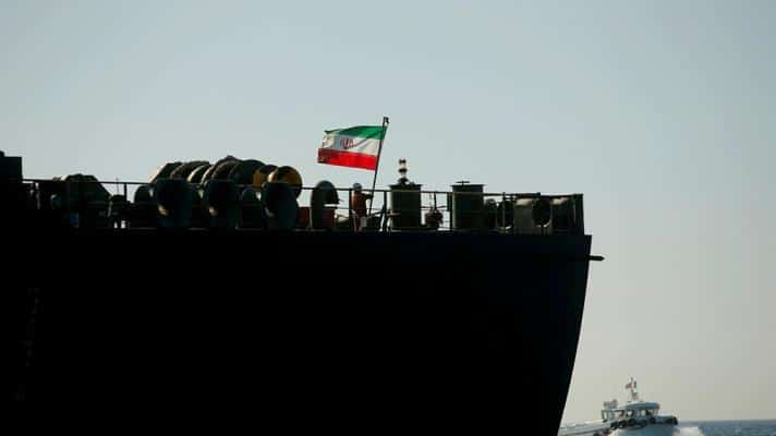 Featured image: The Iranian flag is hoisted on the Iranian oil vessel Adrian Darya 1, in the Strait of Gibraltar (Photo: Reuters).